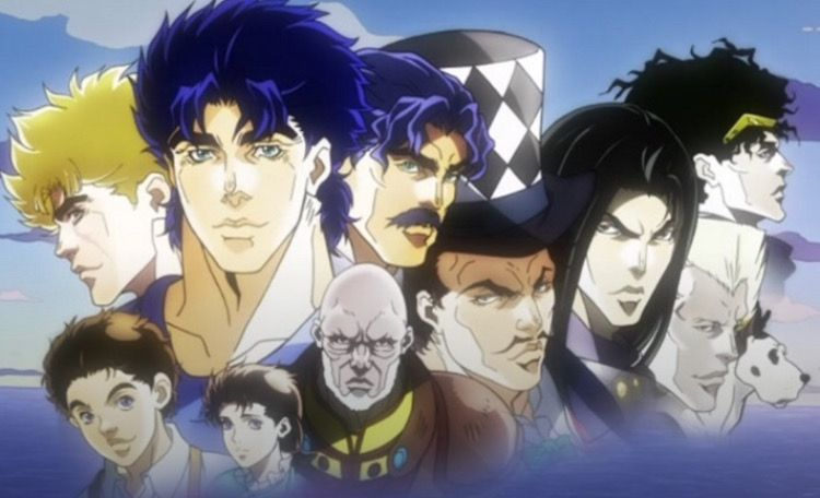 Personajes Phantom blood