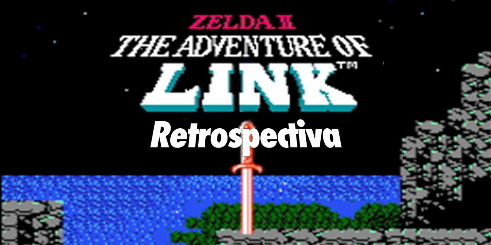 Zelda-The-adventure-of-link-retrospectiva